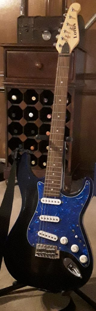 Lotus Blue Stratocaster Copy